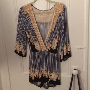 Romper from boutique!
